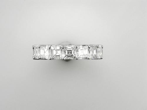 Platinum Eternity style ring