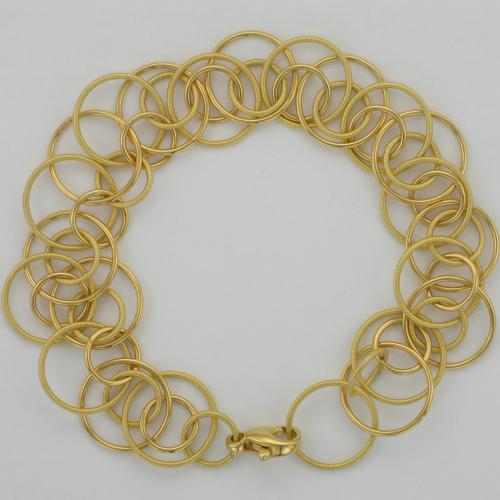 18k yellow gold 7