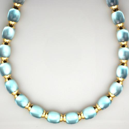 18K Yellow gold 16 ¼ inch necklace
