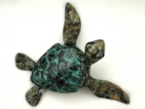 Bronze cast Chris Barela turtle by Frogman - limited edition.
